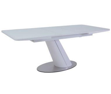 Раскладной стол TML-541-1 белый сатин 160(+40)*90*76 см