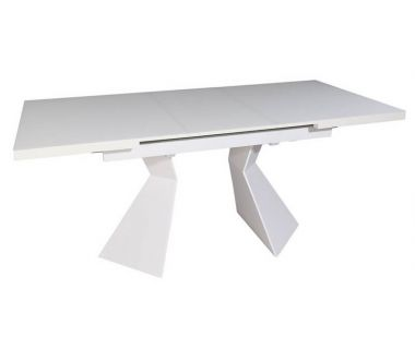 Раскладной стол TML-545 белый матовый 145 (+30) * 85 * 76 см