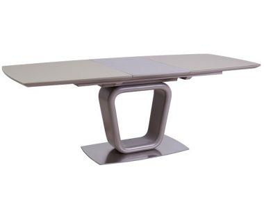 Раскладной стол TML-551 бежевый сатин 140(+50)*90*75 см