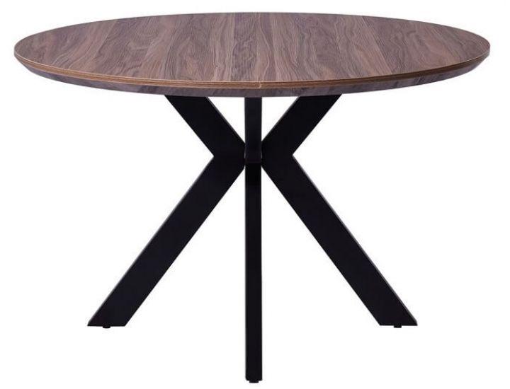 Стол обеденный  круглый TML-660 дуб сонома 120 см