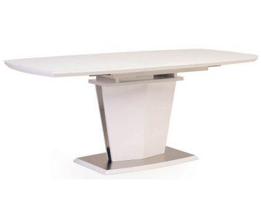 Раскладной стол матовый TML-700 белый 140(+40)*80*76 см