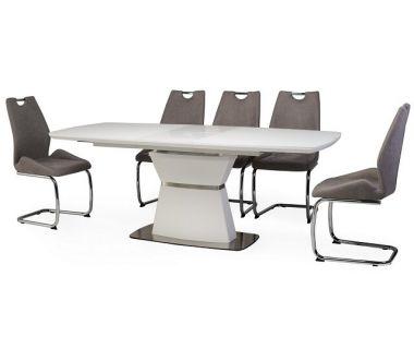Раскладной стол TML-750 белый матовый 160 (+40)*90*76 см