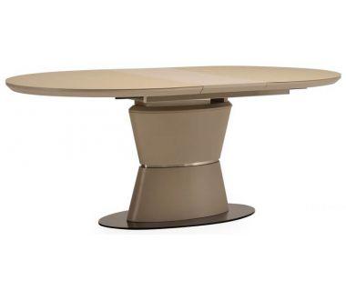 Раскладной стол матовый TML-755 капучино 160(+40)*90*76 см