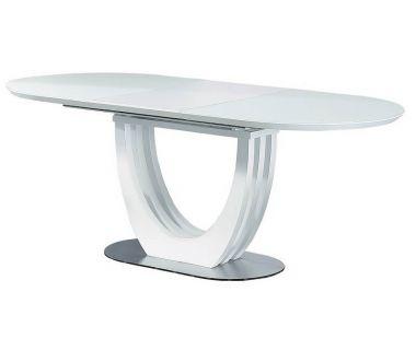 Раскладной стол матовый TML-760 белый 150 (+50)*90*76 см