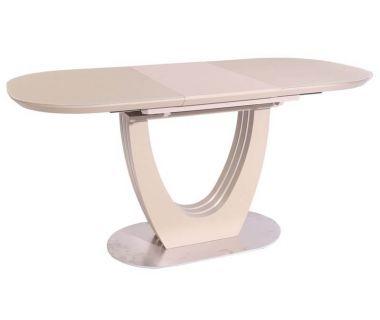 Раскладной стол матовый TML-765-1 капучино 120 (+40) * 80 * 76 см