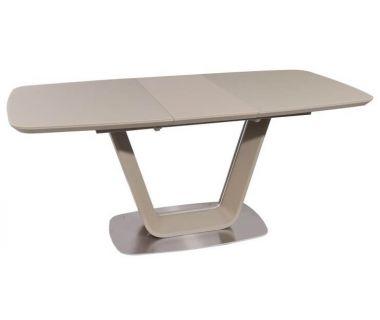Раскладной стол TML-770-1 капучино матовый 140 (+40) * 85 * 76 см