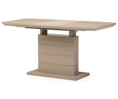 Раскладной стол матовый TMM-50-1 мокко 120(+40)*80*76 см