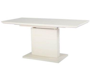 Раскладной стол стеклянный матовый TMM-50-1 молочный