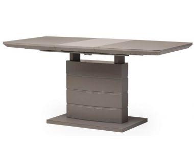 Раскладной стол матовый TMM-50-1 серый 120(+40)*80*76 см