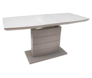 Раскладной стол матовый TMM-50-2 капучино 110(+40)*70*76 см