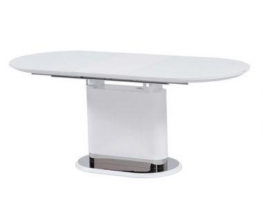 Раскладной стол стеклянный матовый TMM-56 белый