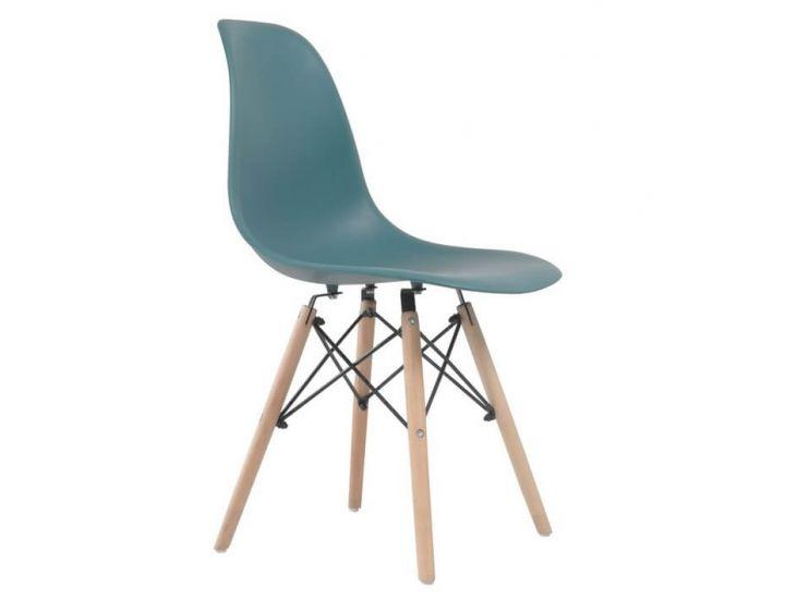Дизайнерский пластиковый стул Eames Chair M-05 тиффани