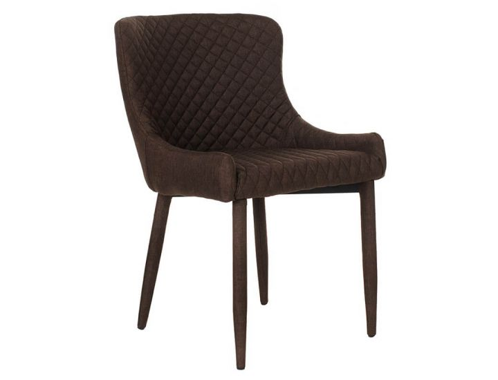 Дизайнерский мягкий стул M-20 коричневый