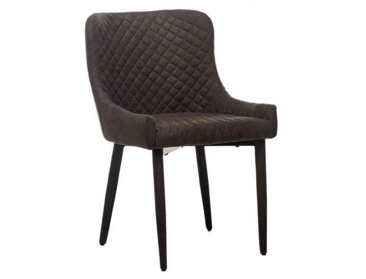 Дизайнерский мягкий стул M-20 коричневый шенилл