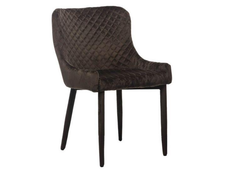 Дизайнерский мягкий стул M-20 коричневый вельвет