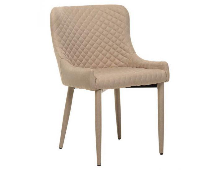 Дизайнерский мягкий стул M-20 молочный