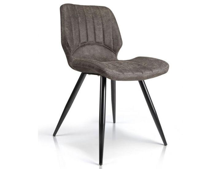 Дизайнерский мягкий стул M-22 коричневый