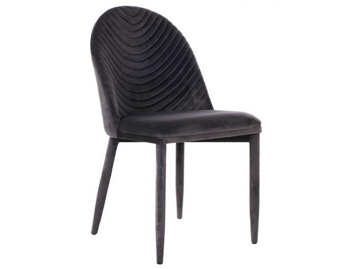 Дизайнерский мягкий стул M-25 серый