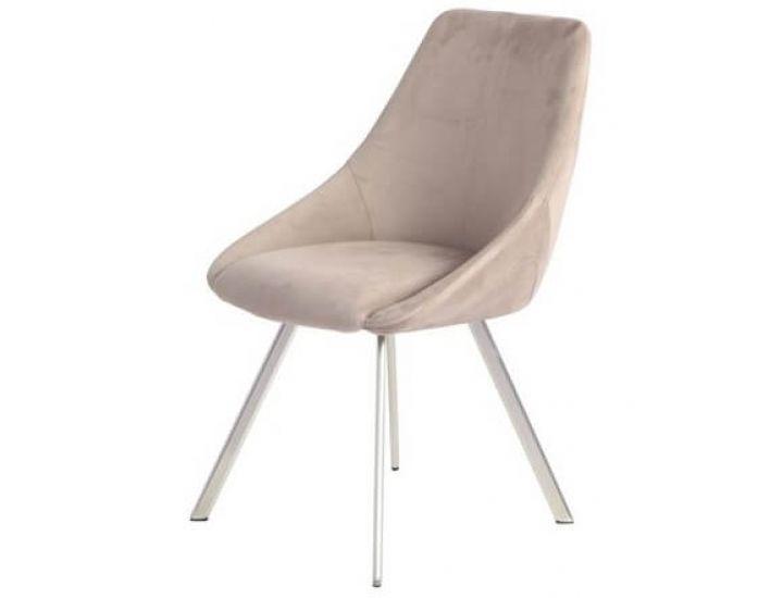 Дизайнерский мягкий стул M-29 капучино вельвет