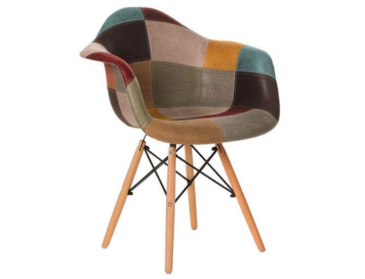 Дизайнерский мягкий стул M-30-2 patchwork (пэчворк)