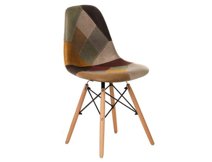 Дизайнерский мягкий стул M-30 patchwork (пэчворк)