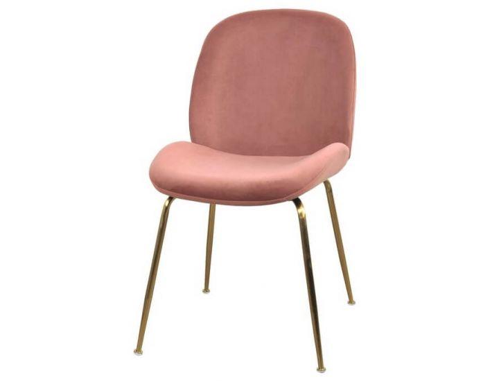 Мягкий стул M-32-3 роза антик вельвет