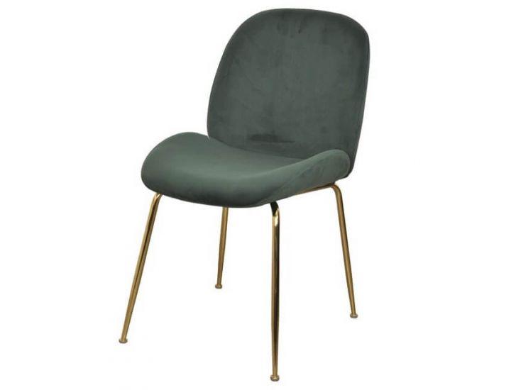 Мягкий стул M-32-3 изумруд вельвет