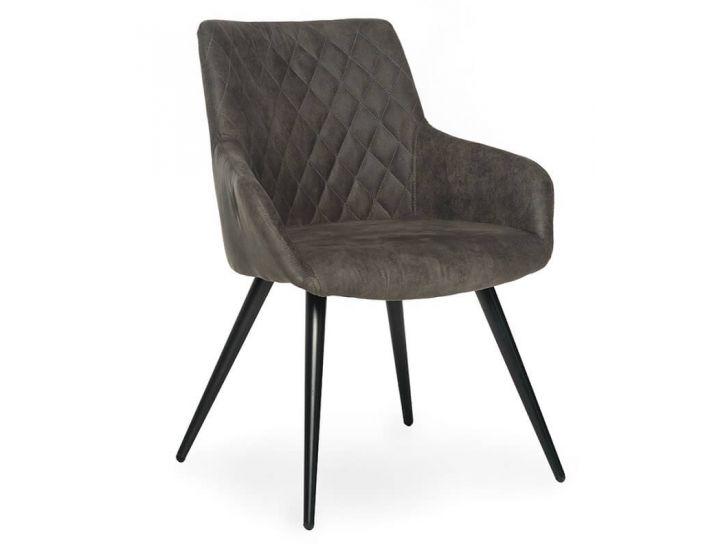 Дизайнерский мягкий стул M-35 антрацит