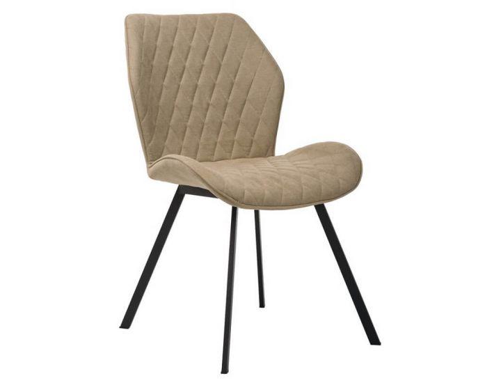 Дизайнерский мягкий стул M-40 бежевый