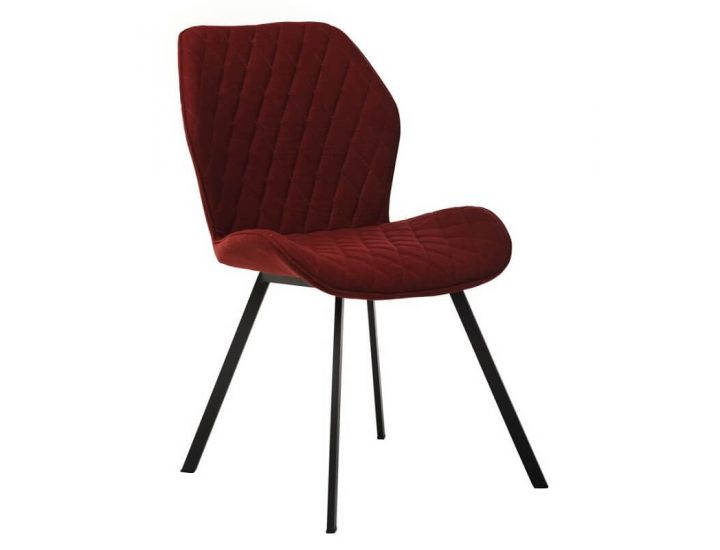 Дизайнерский мягкий стул M-40 бордо