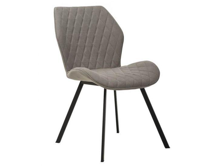 Дизайнерский мягкий стул M-40 серый