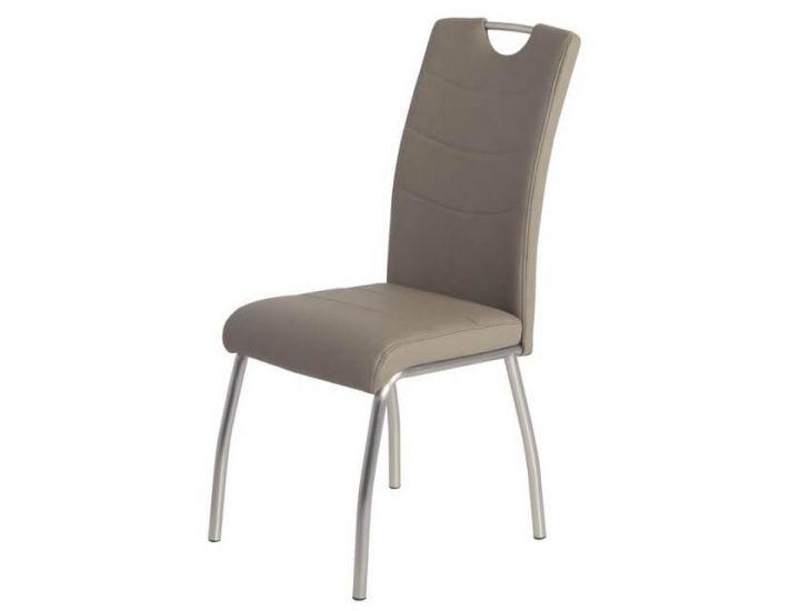 Мягкий стул N-150 капучино