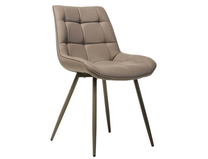 Дизайнерский мягкий стул N-45 капучино