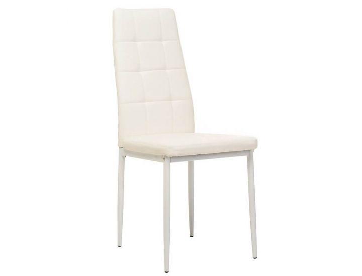 Мягкий стул N-66-2 белый
