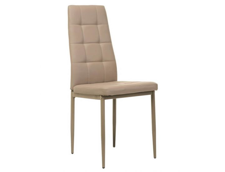 Мягкий стул N-66-2 капучино