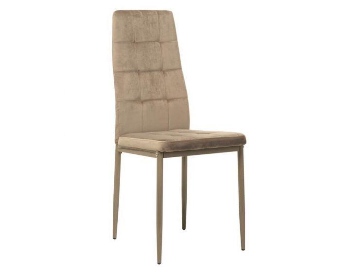 Мягкий стул N-66-2 капучино вельвет