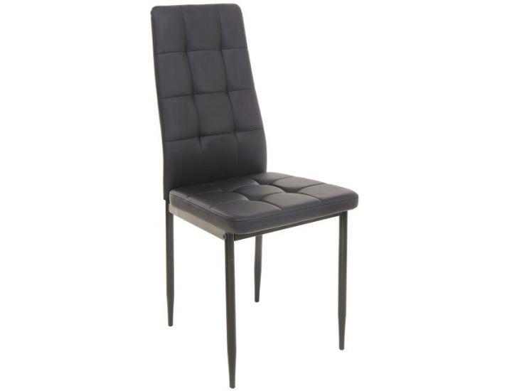 Мягкий стул N-66-2 черный