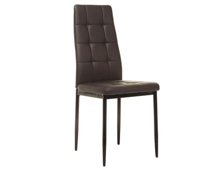 Мягкий стул N-66-2 коричневый