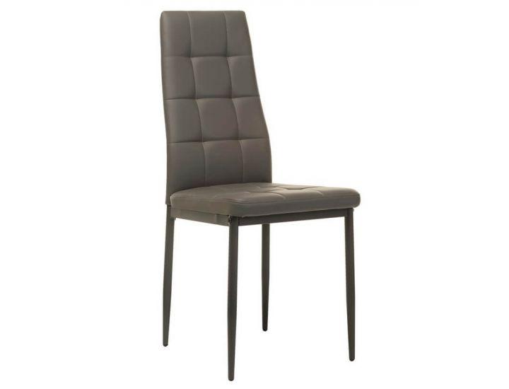 Мягкий стул N-66-2 серый