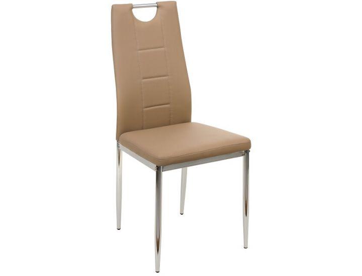 Мягкий стул N-67 капучино