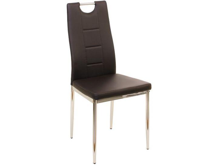 Мягкий стул N-67 коричневый