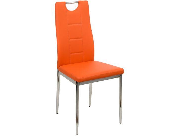 Мягкий стул N-67 оранжевый