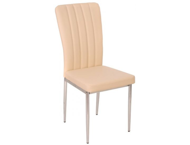 Дизайнерский мягкий стул N-68 бежевый