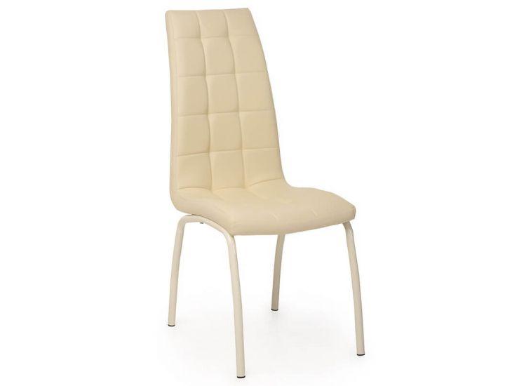 Дизайнерский мягкий стул N-70 бежевый