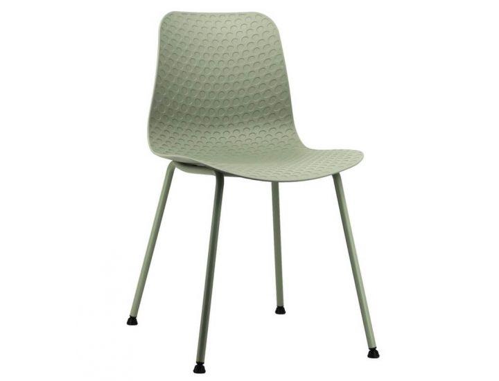 Дизайнерский пластиковый стул P-02 мятный VETRO (Ветро)
