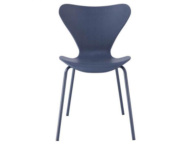 Дизайнерский пластиковый стул P-07 чернильный VETRO (Ветро)