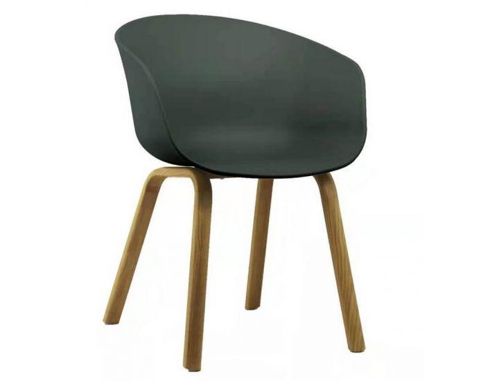 Дизайнерский пластиковый стул P-08 нефритовый VETRO (Ветро)