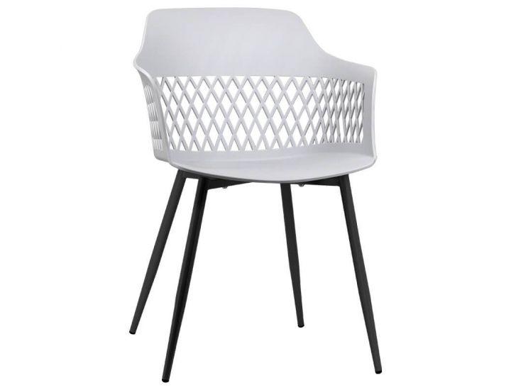 Дизайнерский пластиковый стул P-10 белый VETRO (Ветро)