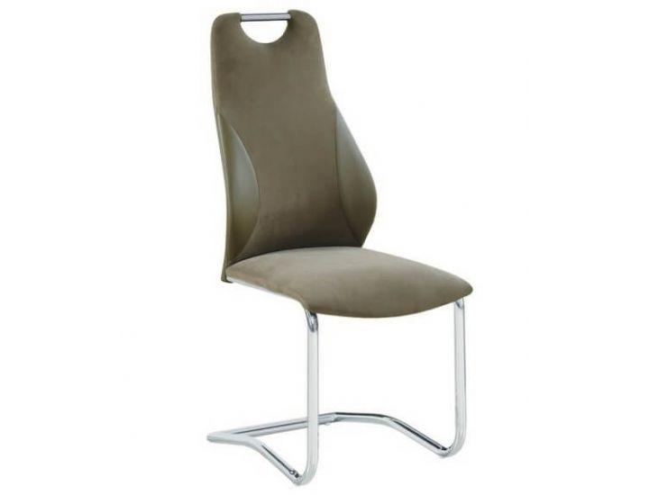 Дизайнерский мягкий стул S-103-2 латте
