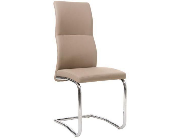 Дизайнерский мягкий стул S-108 кофе мокко